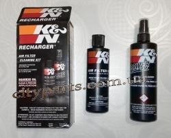 K&N Oil  масло пропитка для воздушного фильтра