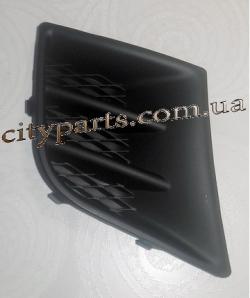 Решетка заглушка бампера Пежо 107 2009 - 2012